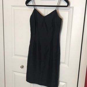 Ann Taylor Spaghetti strap, little black dress